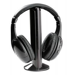 Ausinės Esperanza TH110 + FM, juodos