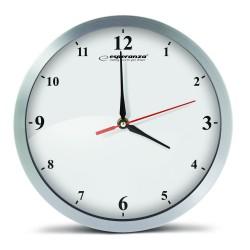 EHC009W Esperanza zegar ścienny detroitbiały
