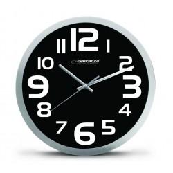 EHC013K Sieninis laikrodis Ciurichas juodas