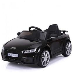 Elektromobilis vaikams AUDI TT RS 12V juodas