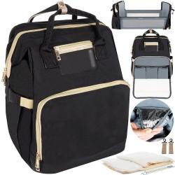 Kuprinė - Vežimėlio krepšys - juodas