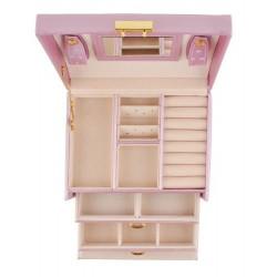 Papuošalų dėžutė, 17,5 x 13,8 x 13,5 cm