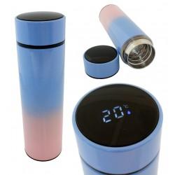 Termosas/ puodelis su LCD ekranu