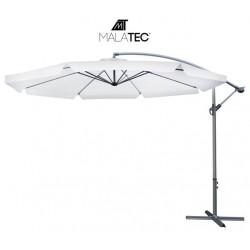 Sodo skėtis su 3,5 m prailginimo ranka - šviesiai pilkas