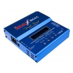 """""""Imax B6AC"""" 80W įkroviklis su maitinimo šaltiniu + adapteriais"""