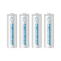 Esperanza EZA104W Įkraunama baterija Ni-MH AA 2000MAH x4