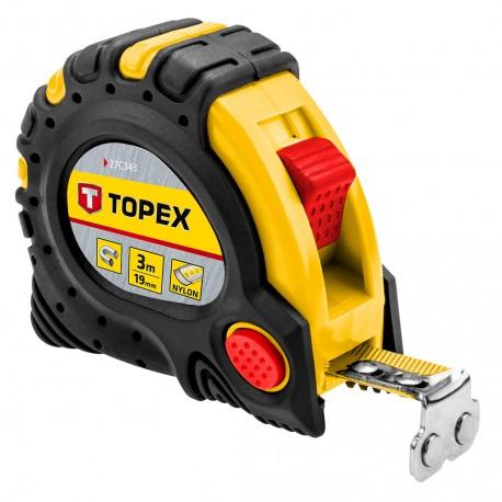 Ruletė su magnetu Topex 3m, 19mm
