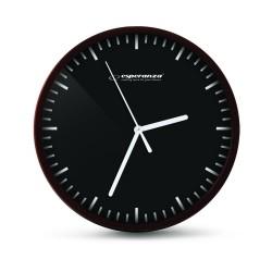 EHC010K Esperanza zegar ścienny budapestczarny