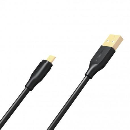 """CB-MD2 Laidas telefonui Juodas greitas įkrovimas """"micro USB-USB"""" 2m   5A   480 Mbps"""
