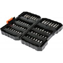 66310 Zestaw końcówek śrubokrętowych - 56 sztuk