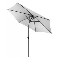 Parasol plażowy/ogrodowy 3m - jasny szary