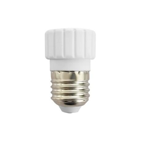 E27 / GU10 šviesos šaltinio adapteris cokolis - perėjimas
