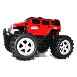 Mad Monster Truck 1:16 27 / 40Mhz Rtr - Raudona