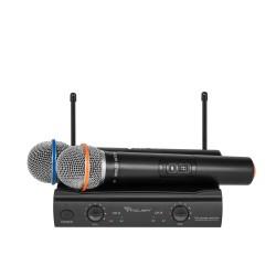 Azusa 2 Bevielio Mikrofono Uhf Kanalų U3000